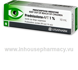 Prednisolone-AFT 1% Eye Drops 10ml/Pack